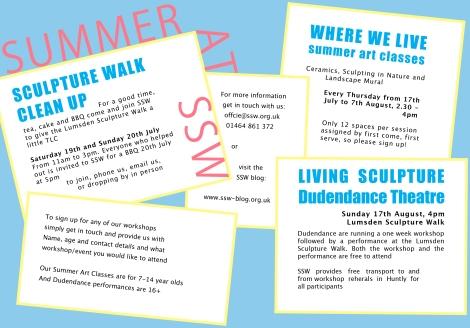 SSW Summer flyer